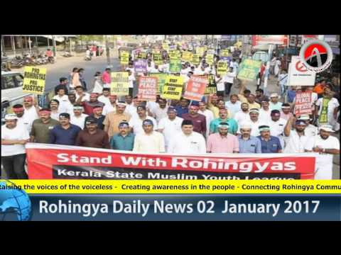 Rohingya Daily News 02 January 2017