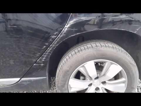 Crash Repair Damage to a 2016 Peugeot 308