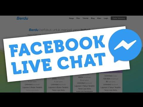 Facebook Messenger Live Chat Di Website - Berdu.id