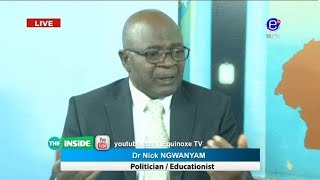 THE INSIDE (Guest: Dr NICK  NGWANYAM) SUNDAY DECEMBER 23rd 2018 EQUINOXE TV