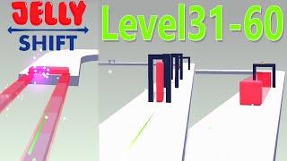 Jelly Shift Level 31-60 Walkthrough