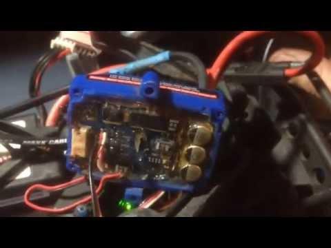 Traxxas Velineon VXL-3s catches fire on 3s LiPo
