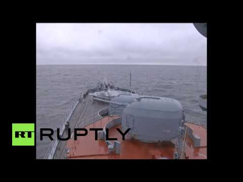 Russia: Watch the North Fleet blast targets in the Arctic