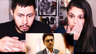 TALVAR | Irfan Khan | Trailer Reaction w/ Tania Verafield!