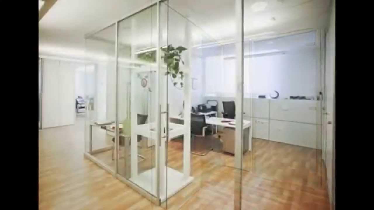Pareti divisorie per uffici ed ambienti di lavoro youtube for Pareti per ufficio