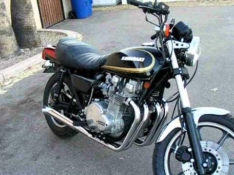 1979 KZ1000 restoration - YouTube