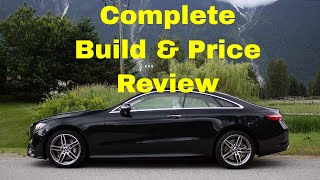 2018 Mercedes Benz E 400 4MATIC Coupe w/AMG Line - Build & Price Review - Download Build Sumamry
