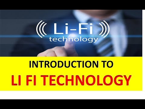 INTRODUCTION TO LI FI TECHNOLOGY