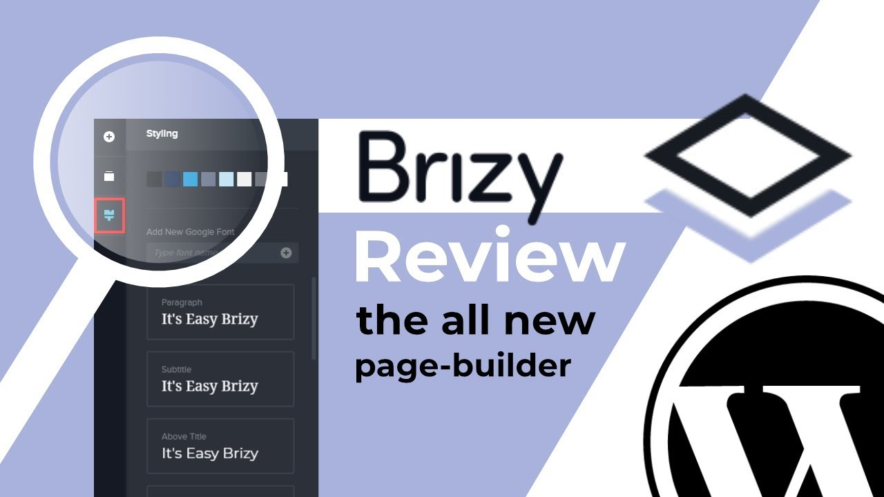 Brizy Page Builder Review: NEW WordPress Page Builder Plugin 2019