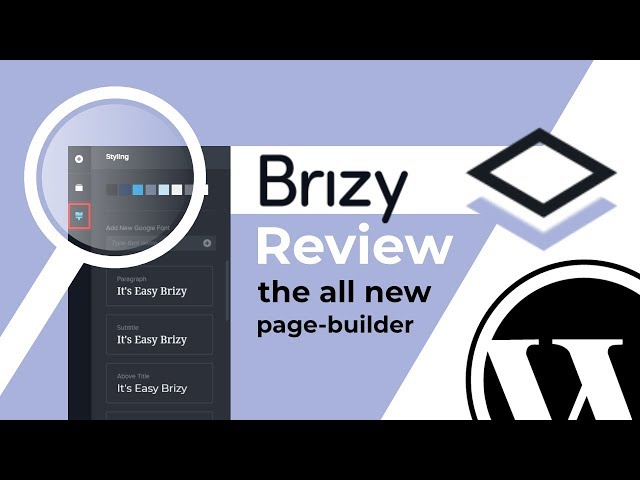 Brizy Page Builder Review: NEW WordPress Page Builder Plugin 2018