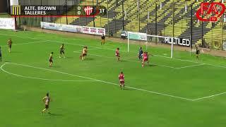 FATV 17/18 Fecha 28 - Almirante Brown 2 - Talleres 0