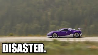 homepage tile video photo for Bugatti Veyron Top Speed Test.