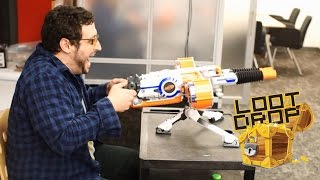 Nerf Rhino-Fire: Nerf machine gun to the face