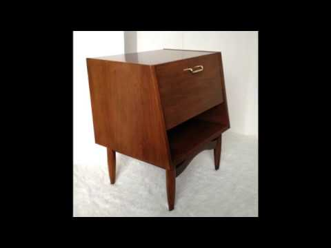 MID CENTURY FURNITURE 4 LESS COM DANIA BY MERTON GERSHUN FOR AMERICAN OF MARTINSVILLE SIDE TABLE