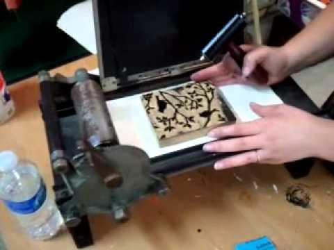 How to Print a Linoleum Block