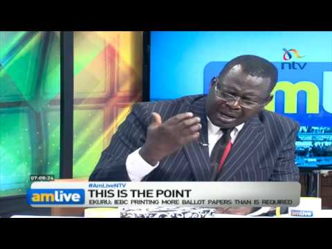 'Extra ballot papers' politics: Why IEBC can not sit pretty - AMLiveNTV