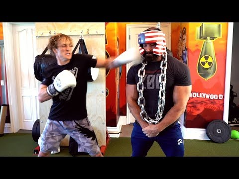 LOGAN PAUL PUNCHED ME IN THE FACE ! *not clickbait*