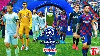 PES 2019 | Barcelona vs Real Madrid | UEFA Champions League FINAL | EL CLASICO | Gameplay PC