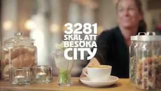 """Jönköping City """"3281 skäl att besöka City"""""""