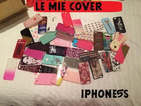 le mie cover per iphone 5 s