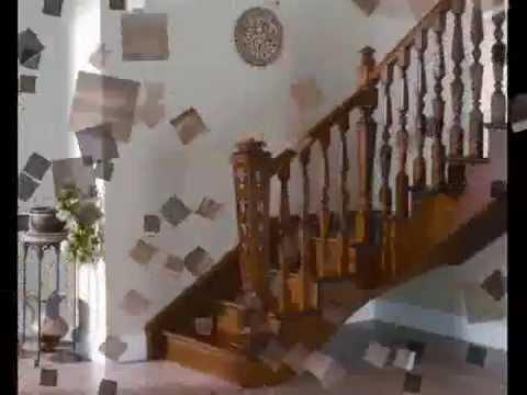 Escaleras y barandillas madera torneados mu oz youtube for Modelos de gradas de madera
