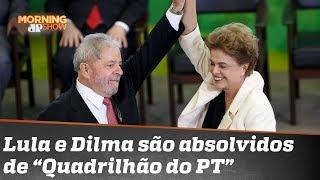 """""""Quadrilhão do PT"""": Lula, Dilma, ex-ministros e ex-tesoureiro são absolvidos"""