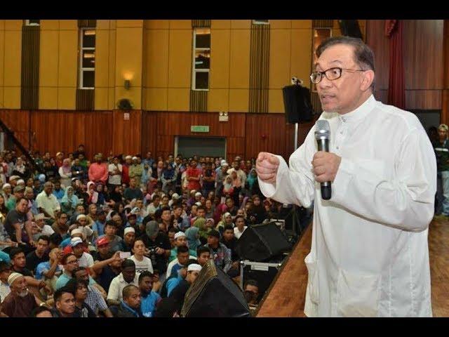 Anwar Ibrahim: Pidato Perdana Di Permatang Pauh
