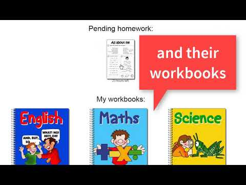 How to make interactive workbooks for your students