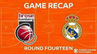 Highlights: Brose Bamberg - Real Madrid