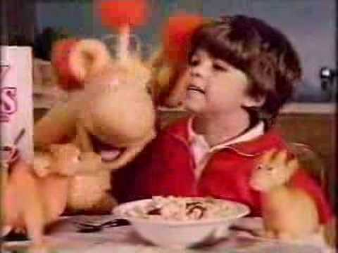 1980's Crispy Critters Cereal Commercial