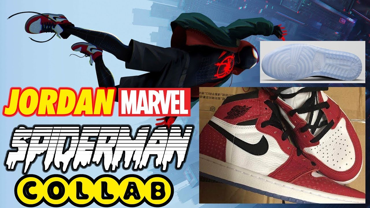 30c9ba3864716f NIKE AIR JORDAN 1 ORIGIN STORY CHICAGO CRYSTAL SPIDERMAN INTO THE  SPIDERVERSE THEORY CONSPIRACY