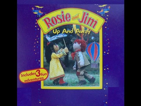 My Little Rosie and Jim Up and Away VHS