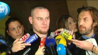 Marc Machin réagit après l'annonce de son acquittement