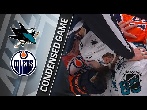 12/18/17 Condensed Game: Sharks @ Oilers