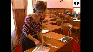 Electoral Commission briefing on vote count