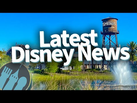 Latest Disney News: BIG Leadership Changes, Universal Orlando Opens Soon, And Disney Springs Is Open
