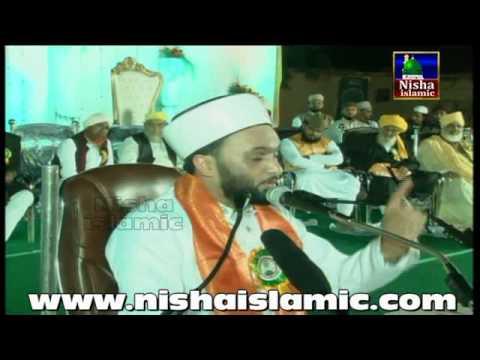 Hazrat Allama Pir Muhammad Saqib Bin Iqbal Al Shaami in Hyderabad 2015 Chanchalguda Ground part 1