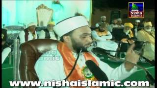 Hazrat Allama Pir Muhammad Saqib Bin Iqbal Al Shaami in Hyderabad 2015 Chanchalguda Ground part 1