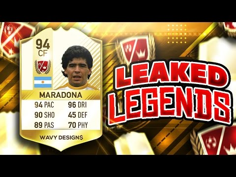 NEW LEAKED LEGENDS ON FIFA 18!!! | PS4 LEGENDS? |