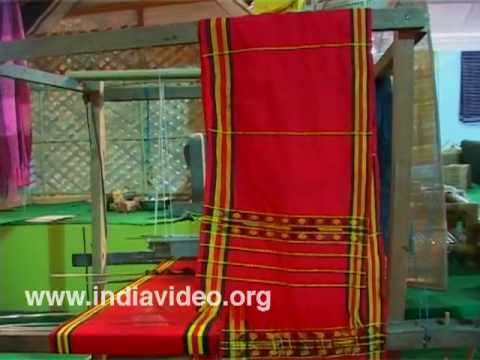 Shawl making in Dilli Haat