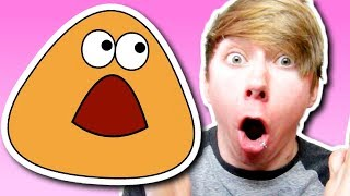 Pou - ALL GROWN UP! (iPhone Gameplay Video)