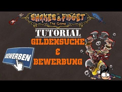 Shakes & Fidget Tutorial II Gilde suchen & die richtige Bewerbung