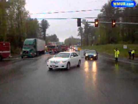 Traffic Detoured Near Fatal Crash