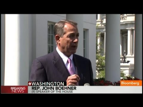 John Boehner: I Support Obama's Call to Action on Syria
