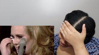 Adele - Someone Like You (Live at The Royal Albert Hall) // REACTION!!!