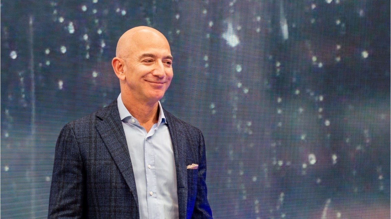 Protesters set up guillotine outside the house of billionaire Jeff Bezos