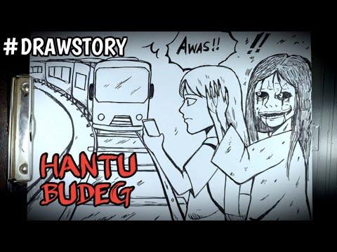 Asal Usul Hantu Budeg || DRAWSTORY