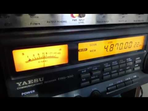 Shortwave radio uncovers a real spy transmission