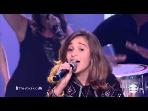 Ivete Sangalo, Daniel Henrique, Luna Bandeira e Robert Lucas cantam 'Sorte grande' no The Voice Kids