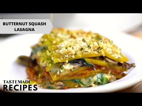 Featured Recipe Butternut Squash Lasagna